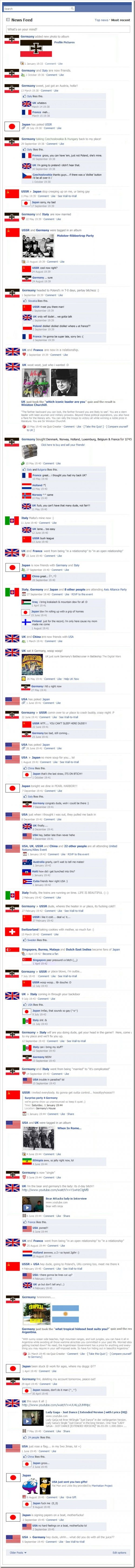 wwii on facebook