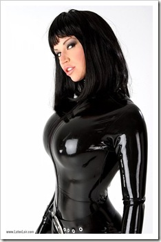 bianca beauchamp in latex