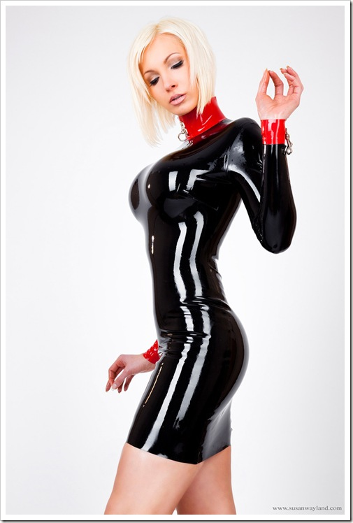 collared and in latex