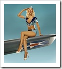 pinup on a rocket