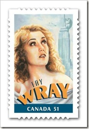 stamp fay wray