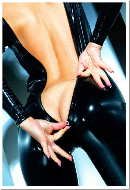 latex zipper