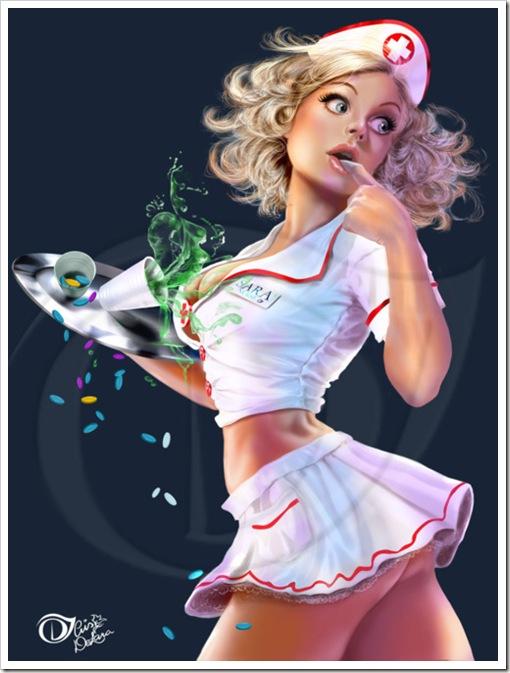sexy nurse comic