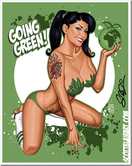 going green by scott blair