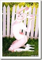 latex bunny
