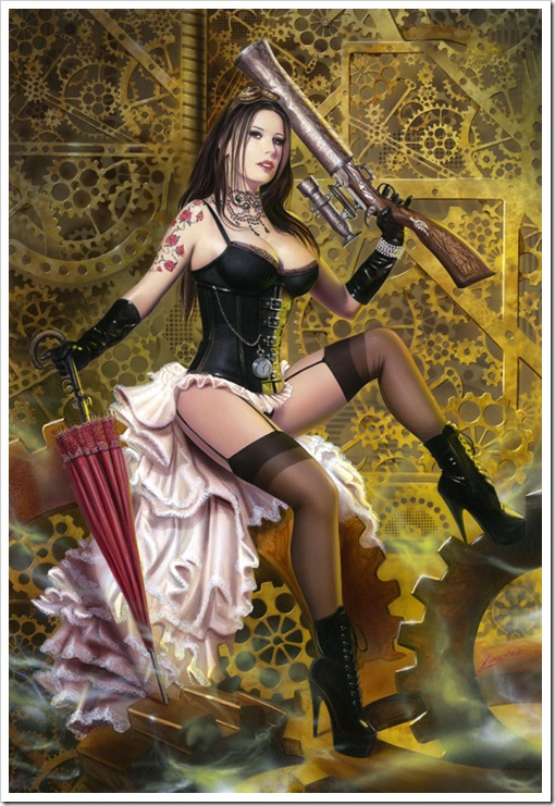 Steampunk-Doll
