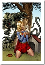 Supergirl_colored_by_Dominic_Marco