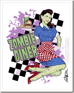 zombie diner by scott blair