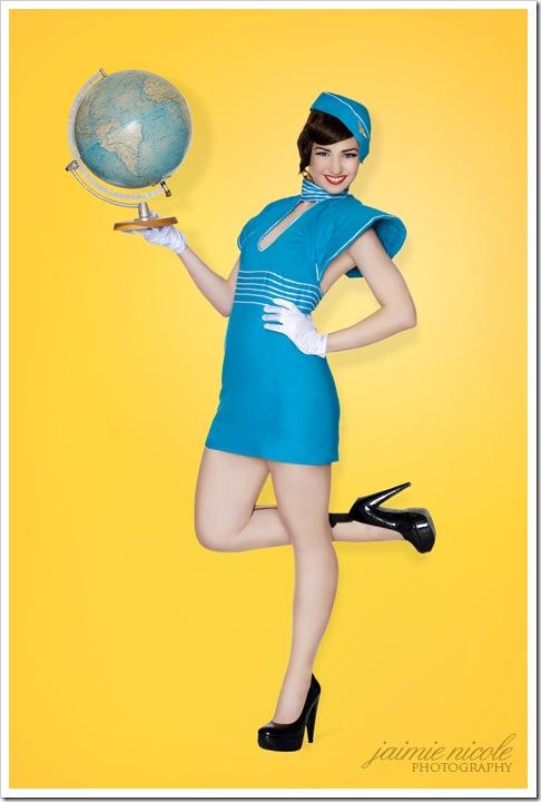 air hostess by paradox photography