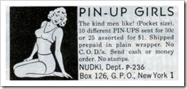 pinup girls ad