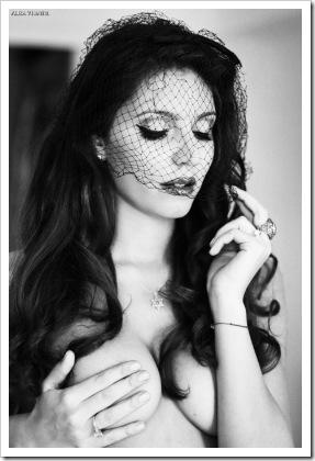 sexy girl w veil
