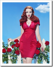 curvy red