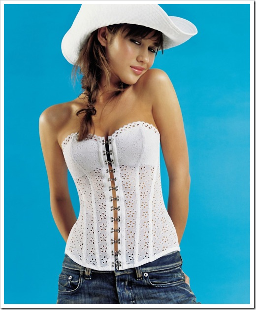 sexy Olga_Kurylenko in cowboy hat