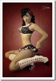 pinup carla by atomic photography