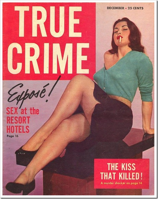 true crime retro cover