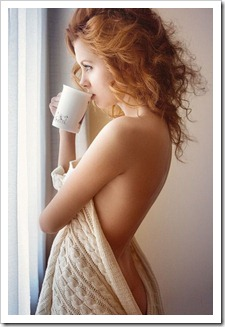 cup of coffee girl