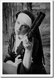 armed nun