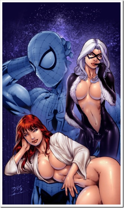 mary jane and catwoman