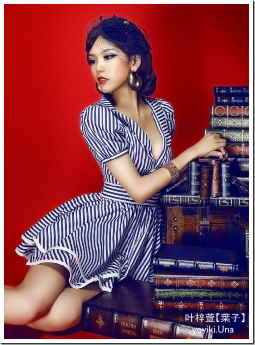 asian pinup