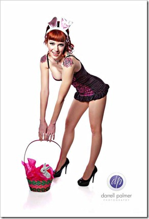easter pinup