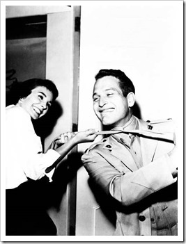 jean-simmons-and-paul-newman-on-the-set-of-until-they-sail