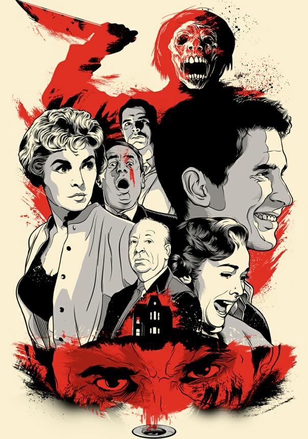 Psycho by Joshua Budich